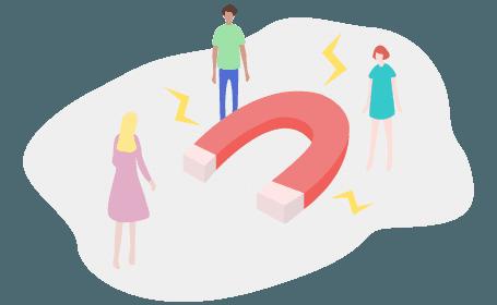 illustration acquisition prospect inbound marketing
